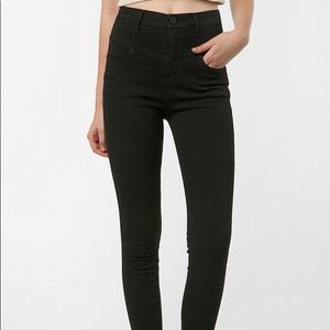 Urban BDG high waisted black jeans